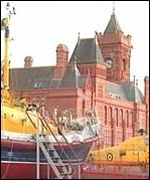 The former Maritime Museum in Cardiff