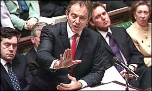 Tony Blair, Prime Minister's Questions