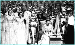 George VI's death began the process that would lead to the coronation of Queen Elizabeth II more than a year later
