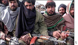 Fighters from Gardez