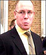 Rogue trader Nick Leeson who brought down Barings Bank in 1995