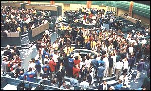 The Nymex exchange in New York
