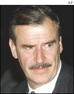 Mexican President Vincente Fox