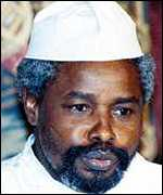 Chad's Hissene Habre now lives in Senegal