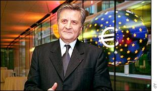 Bank of France governor Jean-Claude Trichet
