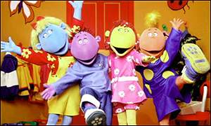 The Tweenies are on CBeebies