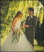 Diane and Stephen Blood's wedding photo
