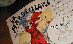 Marseillaise music and CD