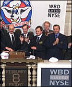 WBD's head opens a trade in the NYSE