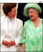 Margaret and Queen Mother