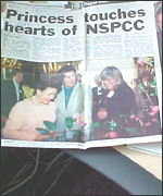The Belfast Telegraph chronicled Princess Margaret's 1996 visit
