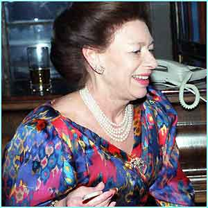 Princess Margaret smoked heavily