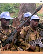 Nigerian UN peacekeeping troops