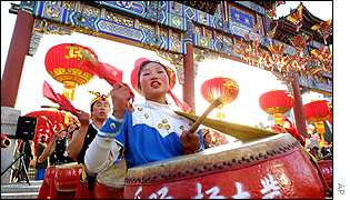 China's Lunar New Year celebrations
