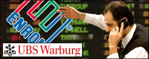 Trader preparing to start trading at UBS Warburg Energy