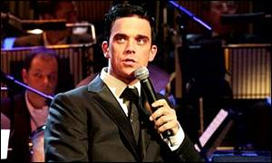 Robbie Williams had a big-selling album in 2001