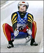 Georg Hackl won his fifth consecutive Winter Olympics luge medal