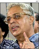 Labour's leader, former Prime Minister Mahendra Chaudhry