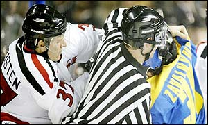 Ukraine and Switzerland come to blows in Salt Lake City