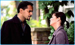 Beppe and Lynne row in EastEnders