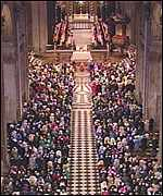 Inside St Paul's Cathedral