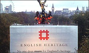 Englsih Heritage sign