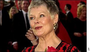 Dame Judi is hoping to get her second Oscar