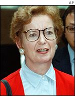 UN human rights chief Mary Robinson