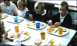 Children's diet is one area which needs addressing
