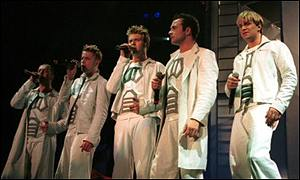 Westlife are looking for their tenth number one