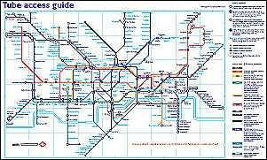 The Tube Access Guide