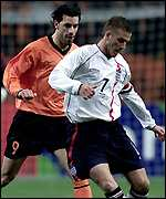 Ruud van Nistelrooy (left) and David Beckham