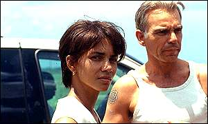Halle Berry with Billy Bob Thornton