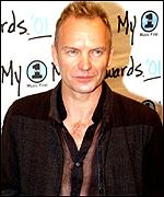 Sting sang with Jennings on one of his albums