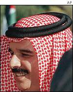 The King of Bahrain, Sheikh Hamad bin Isa al-Khalifa