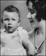 Princess Margaret with Elizabeth, the Queen Mother