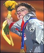Swiss ski-jumper Simon Ammann