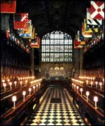 St George's Chapel interior