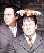 Vic Reeves and Stephen Fry