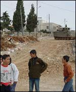 Yasser Arafat's compound in Ramallah