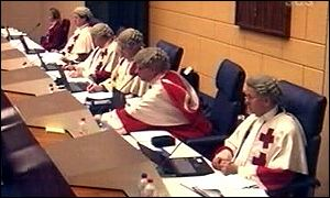 The five Lockerbie appeal judges