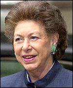 The late Princess Margaret