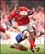 Wales wing Craig Morgan