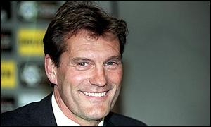 Tottenham manager Glenn Hoddle