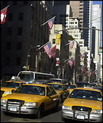 Taxis in NY
