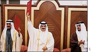 Sheikh Hamad becomes King of Bahrain