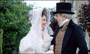 Michael Bryant with Francesca Annis in Wives and Daughters