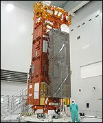 Envisat satellite