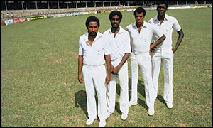 West Indies dominated world cricket from the mid-1970s through the 1980s