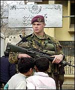 Dutch peacekeeper in Kabul